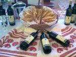 Wein und Gebäck aus Ilok